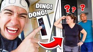 Ding Dong Ditch Prank On Angry Parents!
