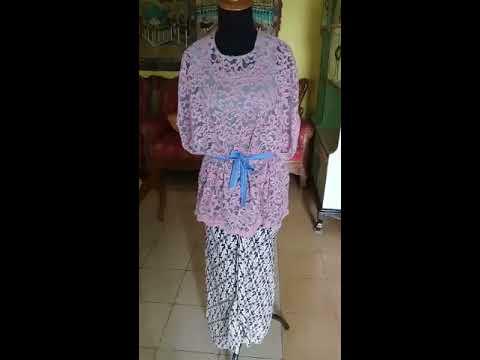 Kebaya Modern Simple Nan Cantik Kebaya Cape Vlog By Noni Daiman