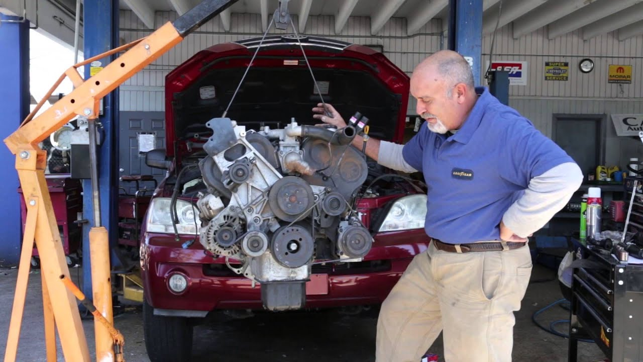 Car Basics Kia Sorento V 6 Engine YouTube