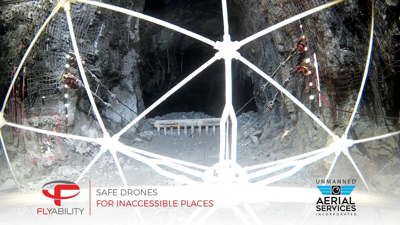 Drones in underground mining: Accessing the inaccessible