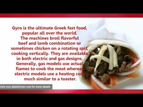 Gyro Machines -Most Popular Commercial And Restaurant Supplies
