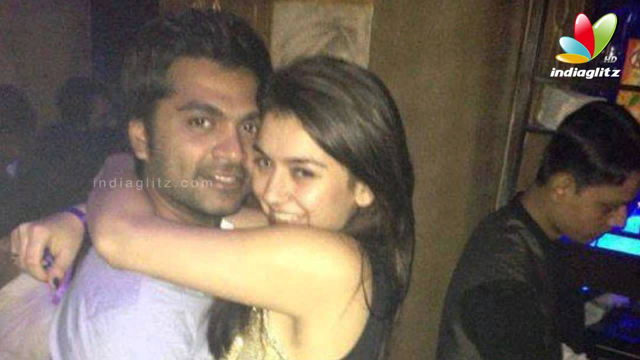 hansika posted her photos with simbu in facebook love