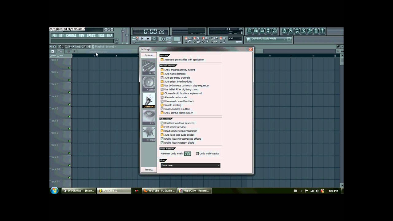 How to Add Block Pattern Feature to Fl Studio 10 - YouTube