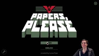 Papers, Please - Do not touch powder