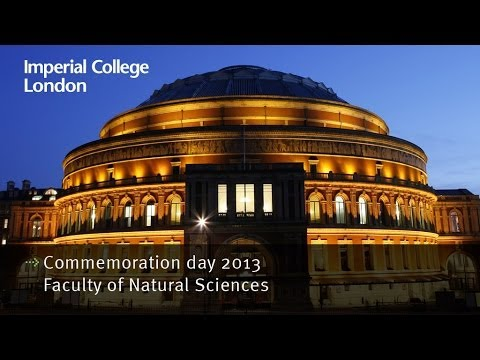 Imperial College London Commemoration day 2013 - Faculty ...