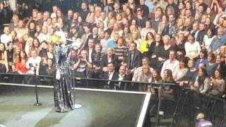 ADELE Live talking to crowd  Rumour has it Manchester 2016