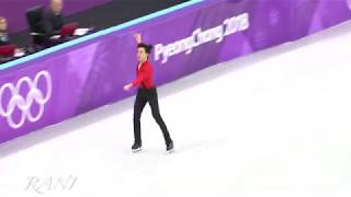 Vicent Zhoun Free Skating(FS) 4K 180217 Pyeongchang 2018 Figure Skating Men Single