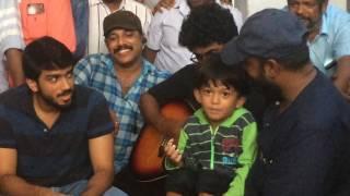 സിഫ്രാൻ പൂമരം ലൊക്കേഷനിൽ/Zifran nizam/kalidas jayaram/abrid shine/Faisal razi/Nizam thaliparamba