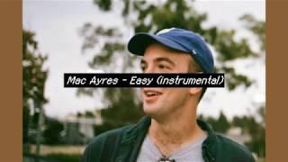 Mac Ayres - Easy (instrumental)
