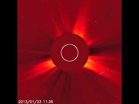 Two Solar Eruptions: Jan. 23, 2013