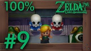 Zelda Link's Awakening (Switch): 100% Walkthrough Part 9 - Ghost Grave & Color Dungeon