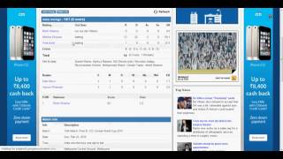 India Vs. South Africa LIVE Score, Cricket Score, ICC Cricket World Cup 2015, Match 13 (22