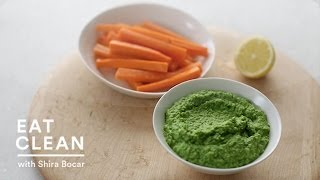 Green Pea And Mint Dip - Eat Clean With Shira Bocar
