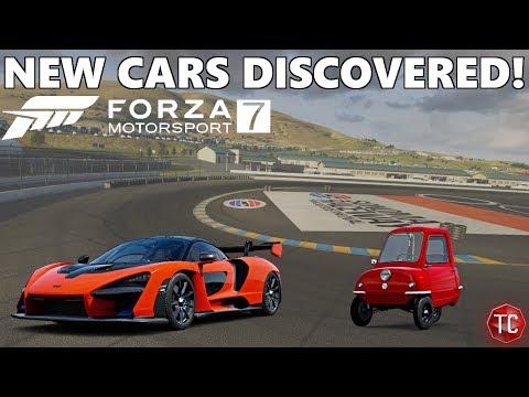 Forza Motorsport 7: HUGE LEAK! Brand New CARS + TRACKS!? Peel P50, McLaren Senna, And MORE!