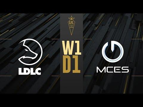 LFL été 2019 - LDLC vs MCES - W1D1