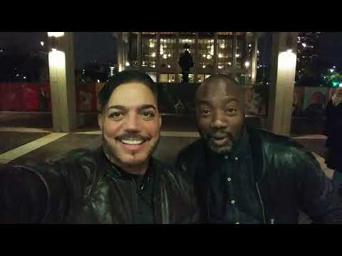 Michael Delorenzo &  Malik Yoba make a silly video