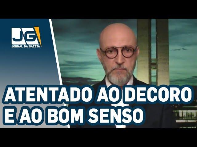 Josias de Souza / Vídeo publicado por Bolsonaro é atentado ao decoro e ao bom senso