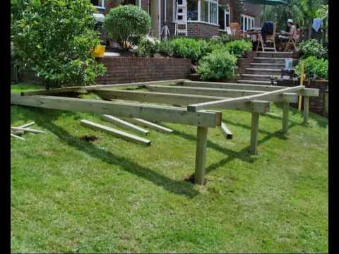 How To Build A Deck Part 05 Building The Subframe How