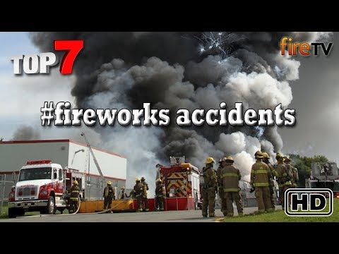 Biggest Firework explosion ever!  Top7 horrible fireworks Accident in the history of pyrotechnics