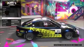 GTA V New Dlc Update!New Karin Sultan Rs Super Car Customization