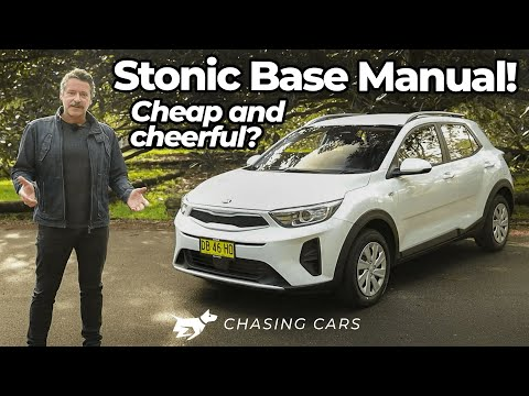 Kia Stonic S 2021 review | cheap-as-chips base manual crosso