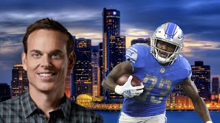 Colin Cowherd doesn't rank Kerryon Johnson as a top 24 RB in the NFL
