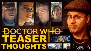 Doctor Who Series 11 Teaser Thoughts - Geeky Overanalyzations