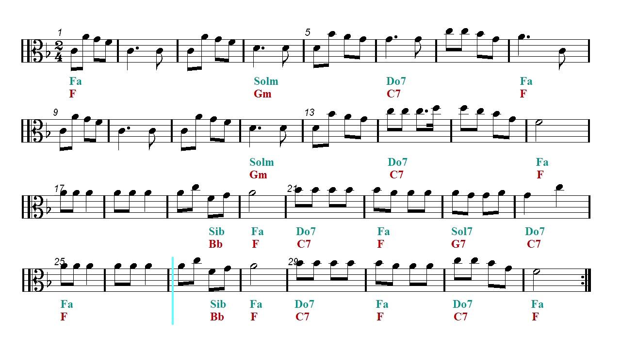 Viola Play Along - Jingle Bells - Christmas song (Sheet music ...