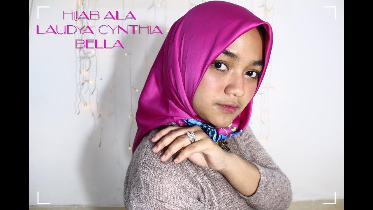 Laudya Cynthia Bella S Inspiration Hijab Tutorial Rafchannisa Youtube
