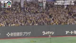 2019.5.14 阪神 マルテ 第3号ホームラン!どんどん調子を取り戻している!