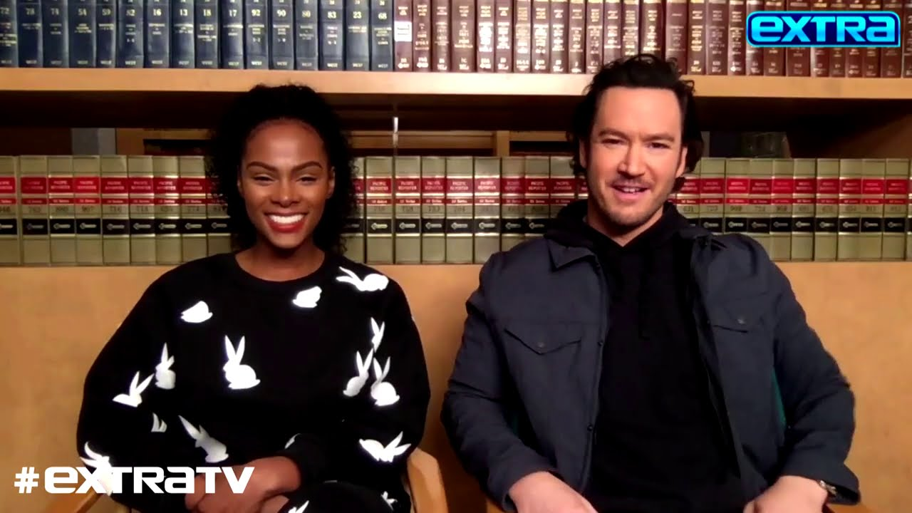 How Mark-Paul Gosselaar and Tika Sumpter's Characters Are Adjusting on 'Mixed-ish' Season 2