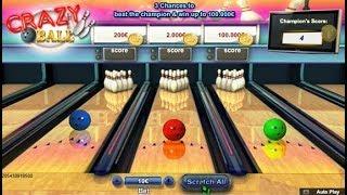 Jeu de grattage à Crazy Ball 💰 le bowling à gratter