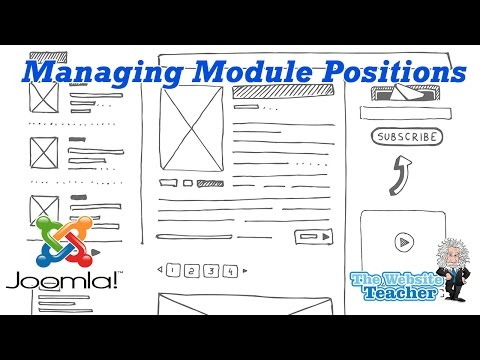 Joomla Managing Module Positions