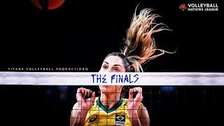 Fantastic Volleyball Blocks by Carol Gattaz | VNL 2021