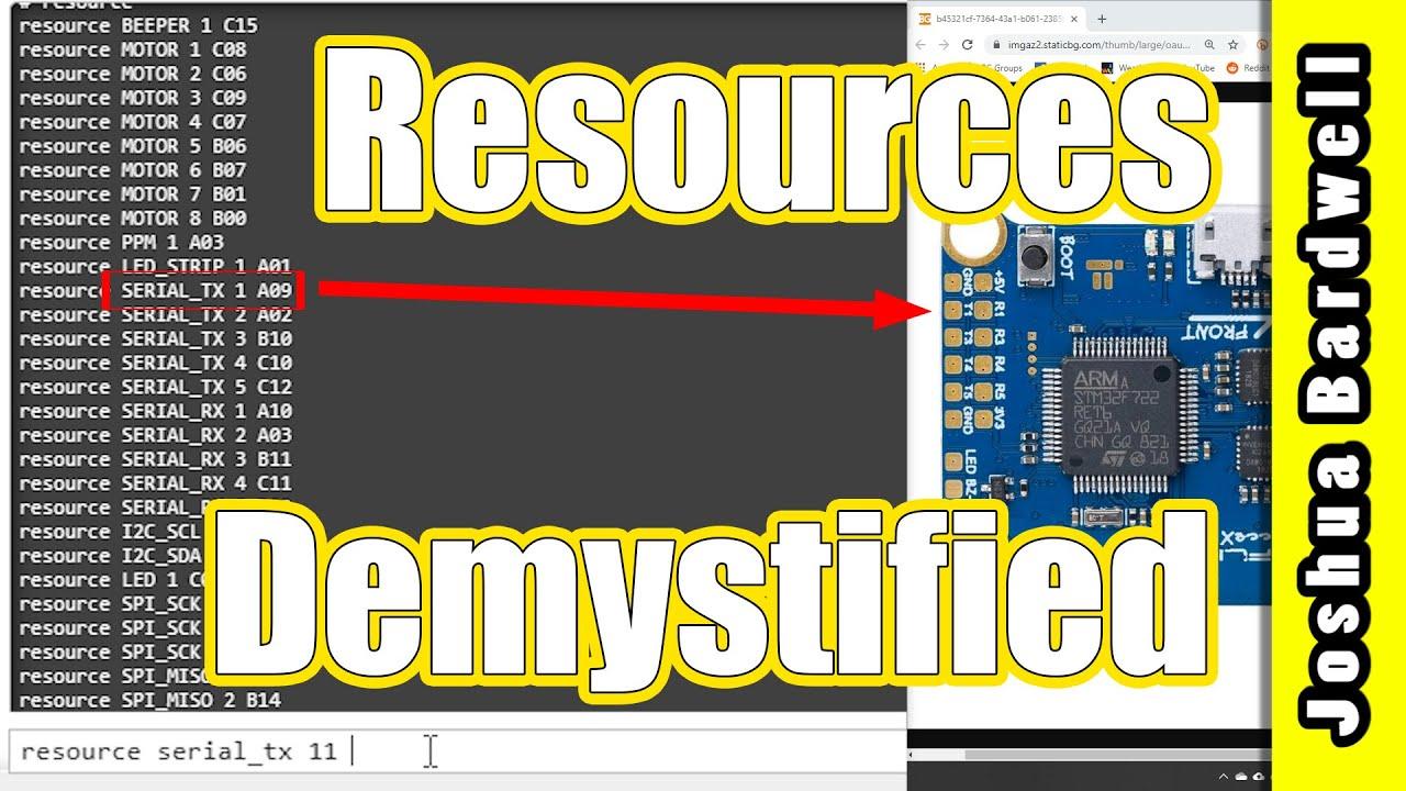 Betaflight Resource Remapping IN DEPTH TUTORIAL