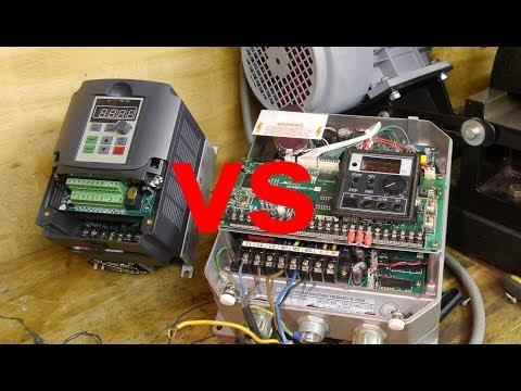 Old VFD vs new vector controlled VFD