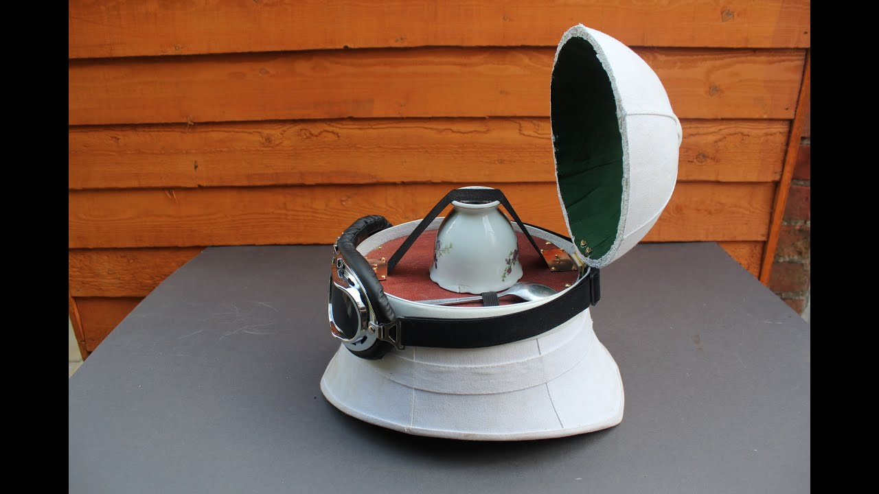 cd8ebf0e7bfa6 Steampunk Pith Helmet - YouTube