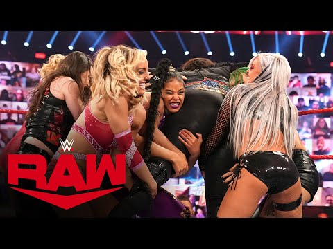 Dual-Brand Battle Royal for a Raw Women's Title Opportunity: Raw, Oct. 12, 2020