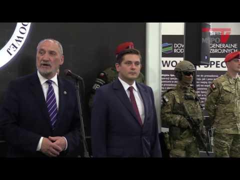 MSPO 2016: minister Antoni Macierewicz o Patriotach