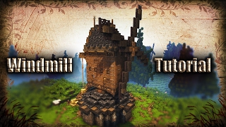 [Minecraft Tutorial] How t๐ build a Realistic Medieval Windmill