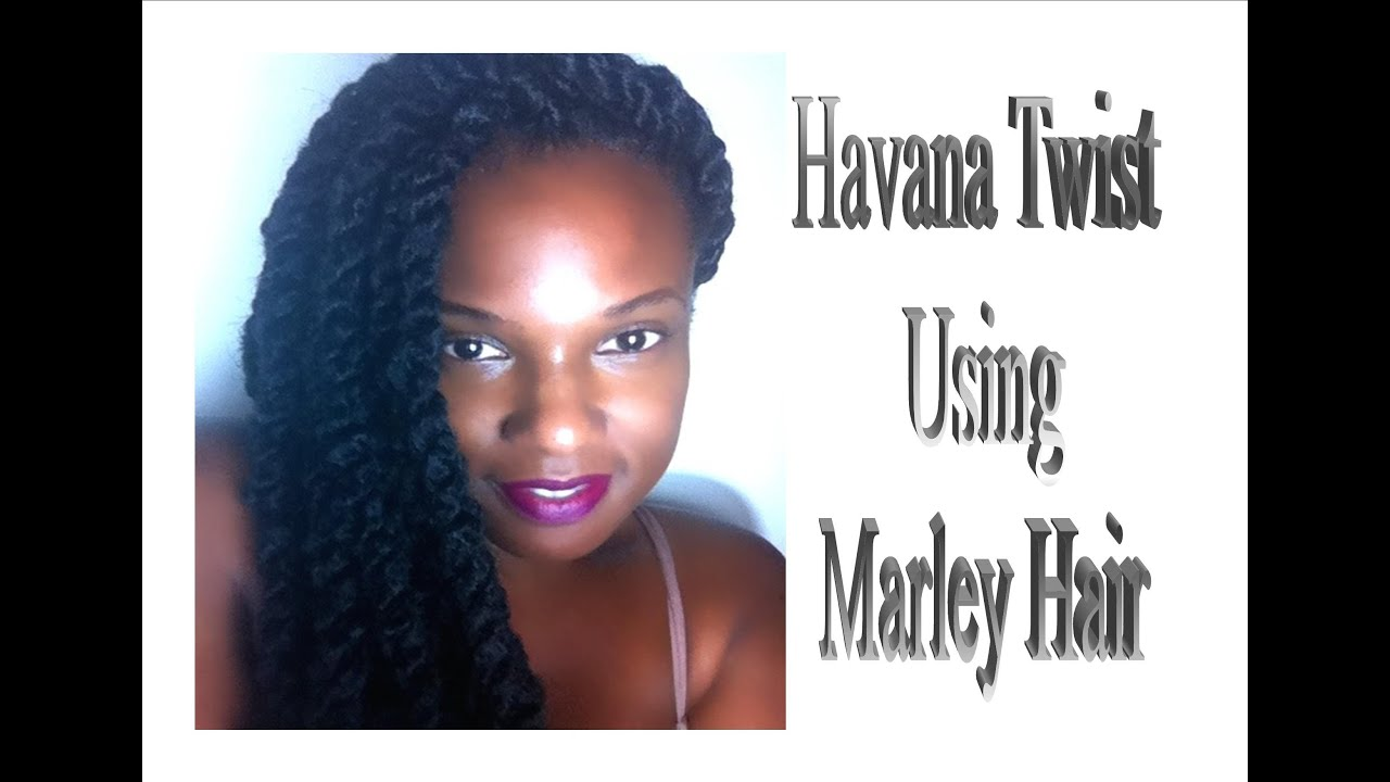 Natural Hair Havana Marley Twist Using Janet Collection Noir Afro You