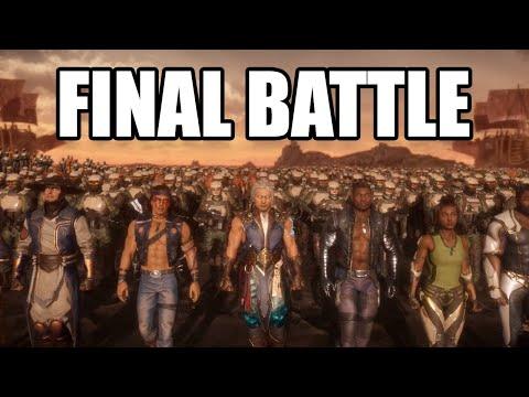 MORTAL KOMBAT 11 Aftermath - Final Battle Scenes / Fight Scenes