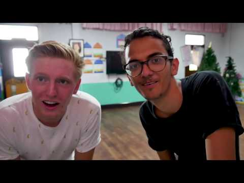 Leander Times Two: Volunteering in Thailand