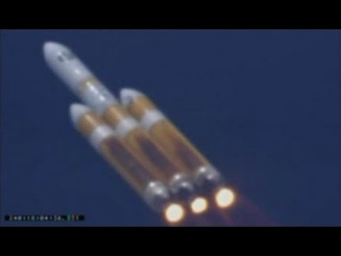 Launch of Worlds Largest Rocket - The Delta IV Heavy with NROL-65 Onboard