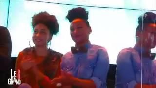 D8 LE GRAND 8 AVEC HAPSATOU SY spécial coup de coeur Murielle Kabile designer Hair Couture