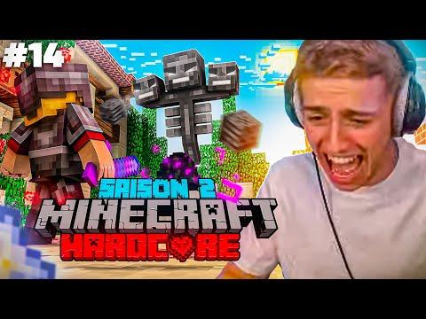 LE WITHER ATTAQUE MON VILLAGE ! (Aventure Minecraft Hardcore #14)