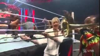 WWE Summer Rae Gives A Trombone A Handjob