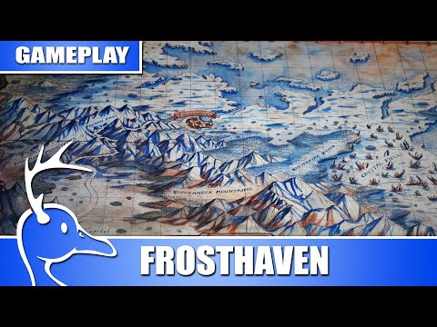 Frosthaven Gameplay - 3 Player - (Quackalope Games)