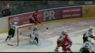 Roman Červenka ve Slavii během výluky NHL (podzim 2012)