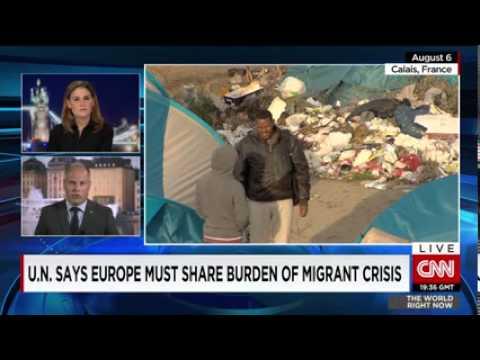 CNN News August 21 2015 Sweden bearing largest burden of asylum seekers